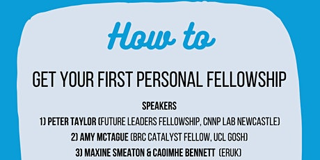 How to ... Get Your First Personal Fellowship! tickets