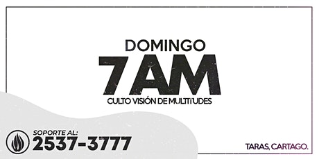CULTO GENERAL 7 AM - 2021 boletos