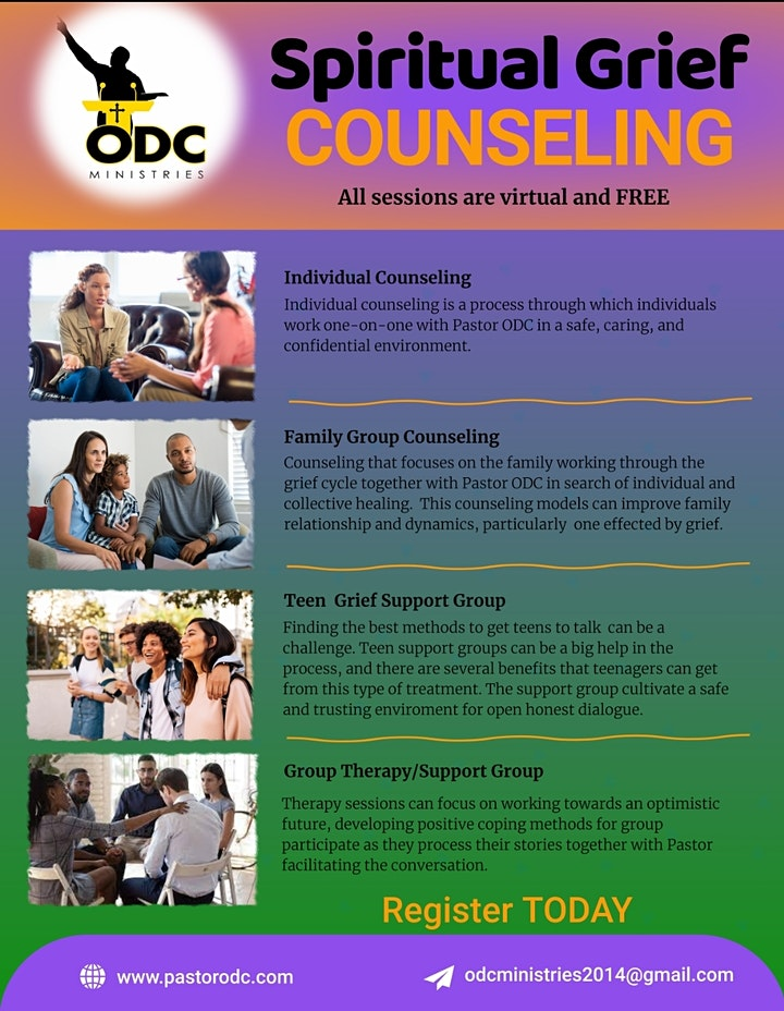 Spiritual Grief Counseling image