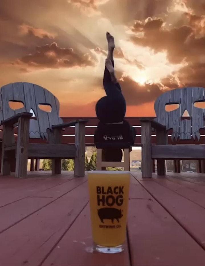 Yoga+Beer @Blackhog Brewery image
