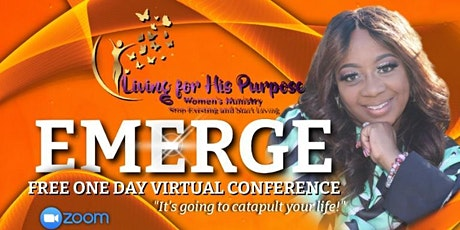 EMERGE - Free One Day Virtual Conference - Living for His Purpose Ministry entradas