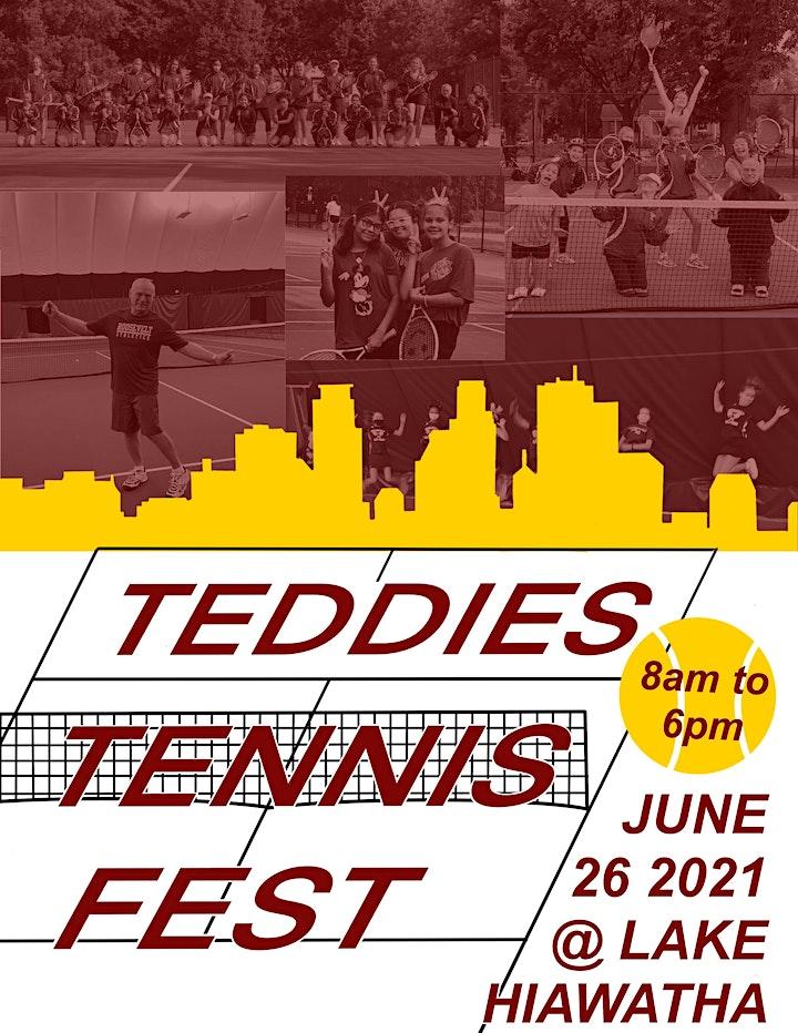 Teddies Fest Doubles Tennis Match Play image