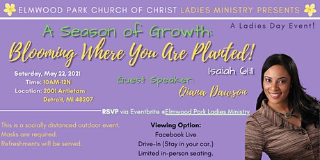 Elmwood Park church of Christ Ladies Ministry Presents tickets