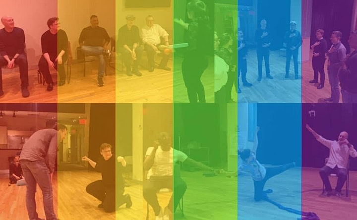 """NYC Queer Playback Theater's """"Pride in Progress""""  June 13 @ 7pm CDT/8pm EDT image"""