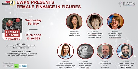 Female Finance in Figures - Switzerland & Financial Services for Women tickets