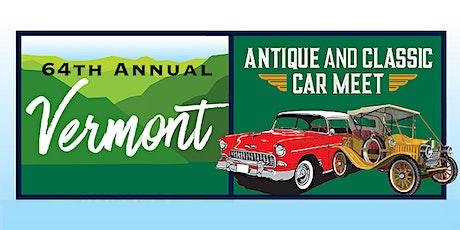 64th Annual Antique & Classic Car Meet - 2021 tickets