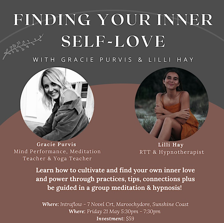 Finding your Inner Self-love - Group Hypnosis & Group Meditation image