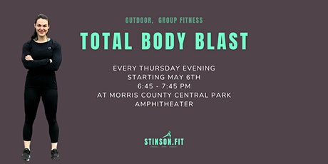TOTAL BODY BLAST- Thursday evening workout tickets