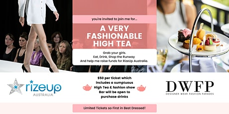 Fashion, Fun and Fundraising for RizeUp. tickets