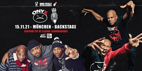 Onyx & Lords Of The Underground Live in München - Backstage Tickets