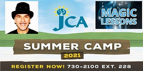 JULIUS MAGIC CAMP - Magic Lessons at JCA Summer Day Camp - ONE WEEK SESSION tickets