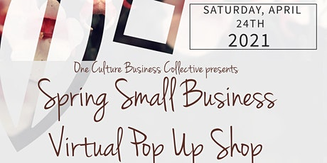 Spring  Small Business Virtual Pop-Up Shop tickets
