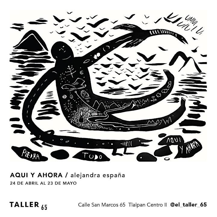 """Imagen de Alejandra España """"Aquí y Ahora"""" Exposicion de arte"""