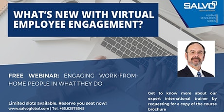 Recorded Webinar: What's New with Virtual Employee Engagement? tickets