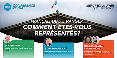Français de l'étranger: comment êtes-vous représentés? billets