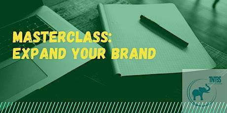 Masterclass: Expand Your Brand biglietti
