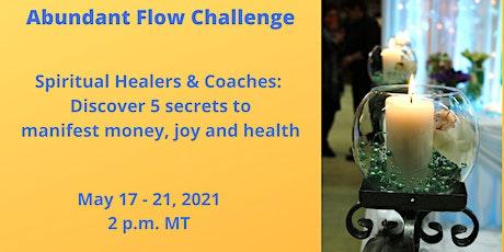 Abundant Flow Challenge biglietti