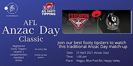 AFL Anzac Day Classic tickets