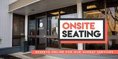 4/25  Sunday Morning - Onsite Seating tickets