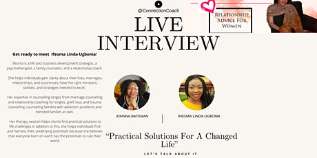 "*FREE* Seminar W/ Ifeoma Ugboma ""Practical Solutions For A Changed Life"" tickets"