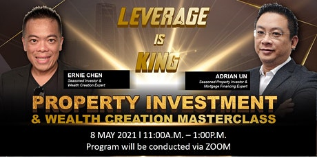 Property Investment & Wealth Creation Masterclass tickets