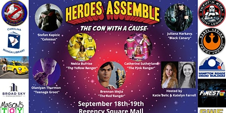 Heroes Assemble: The Con with a Cause tickets