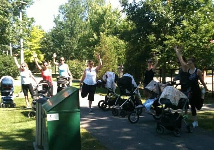 Stroller Workout by the Water - Tuesday Group image