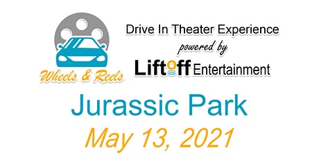 Wheels and Reels - Jurassic Park tickets