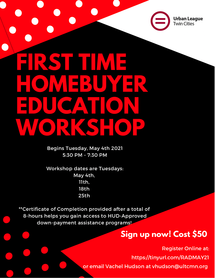 Realizing the American Dream: First Time Homebuyer's Education Workshop image