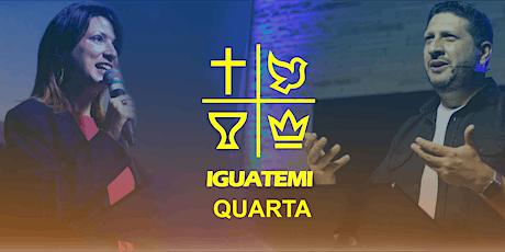 IEQ IGUATEMI - CULTO  QUA - 21/04 - 18H30 ingressos