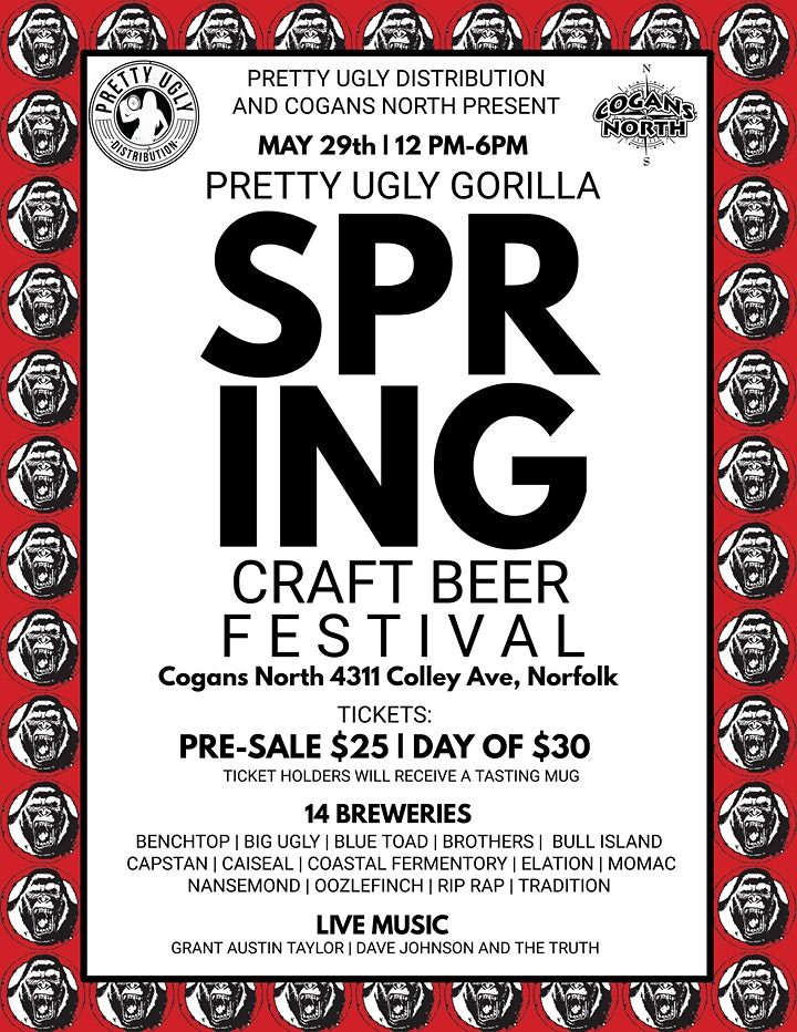 Pretty Ugly Gorilla Spring Craft Beer Festival image