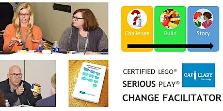 Certified Lego® Serious Play® Change Facilitator (Virtual Delivery) tickets