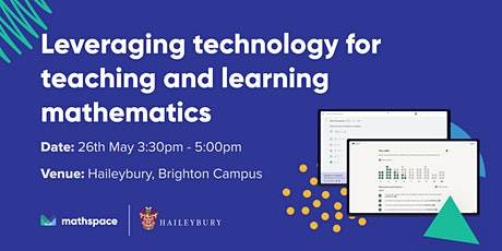 Leveraging technology for teaching and learning mathematics @ Haileybury tickets