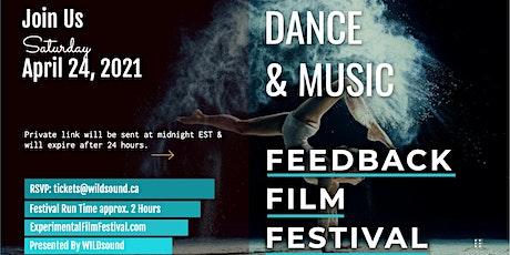 Experimental, Dance, Music (FREE) Virtual Film Festival | Stream Saturday tickets