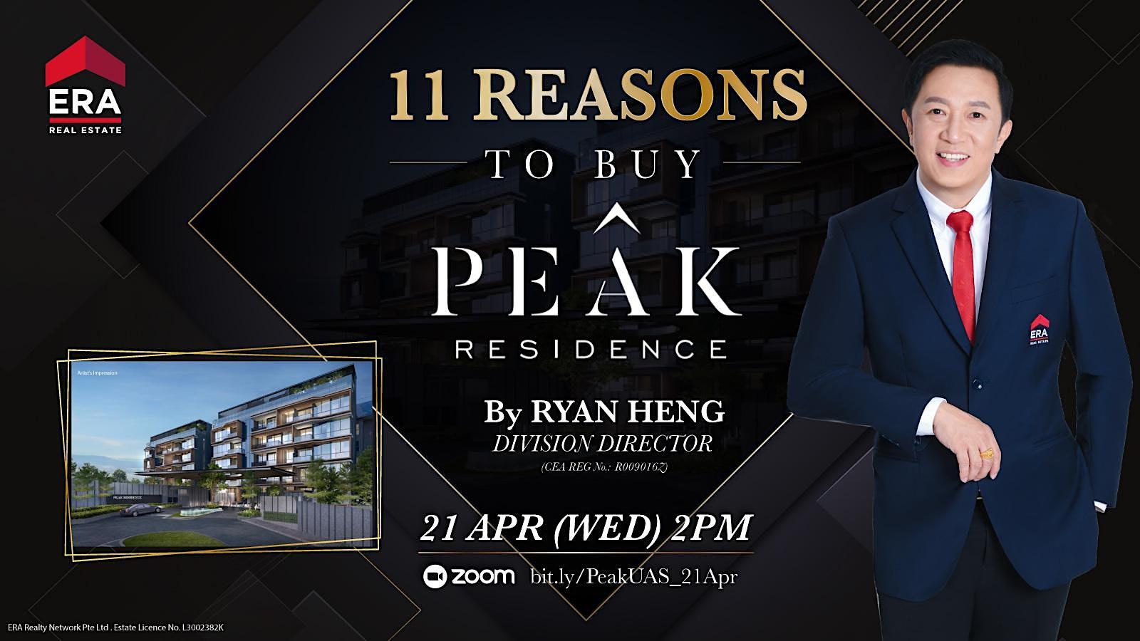 11 Reasons To Buy Peak Residence
