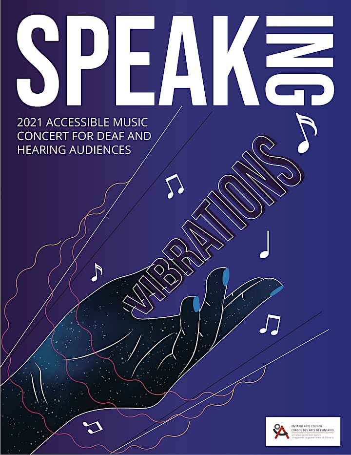 Speaking Vibrations  - Accessible Music Concert image