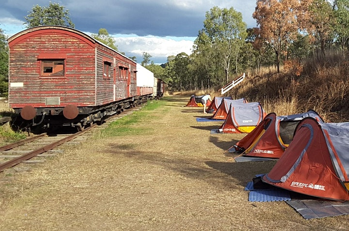 Loopy Rail Trail Weekend - Linville to Nanango  130km circuit image