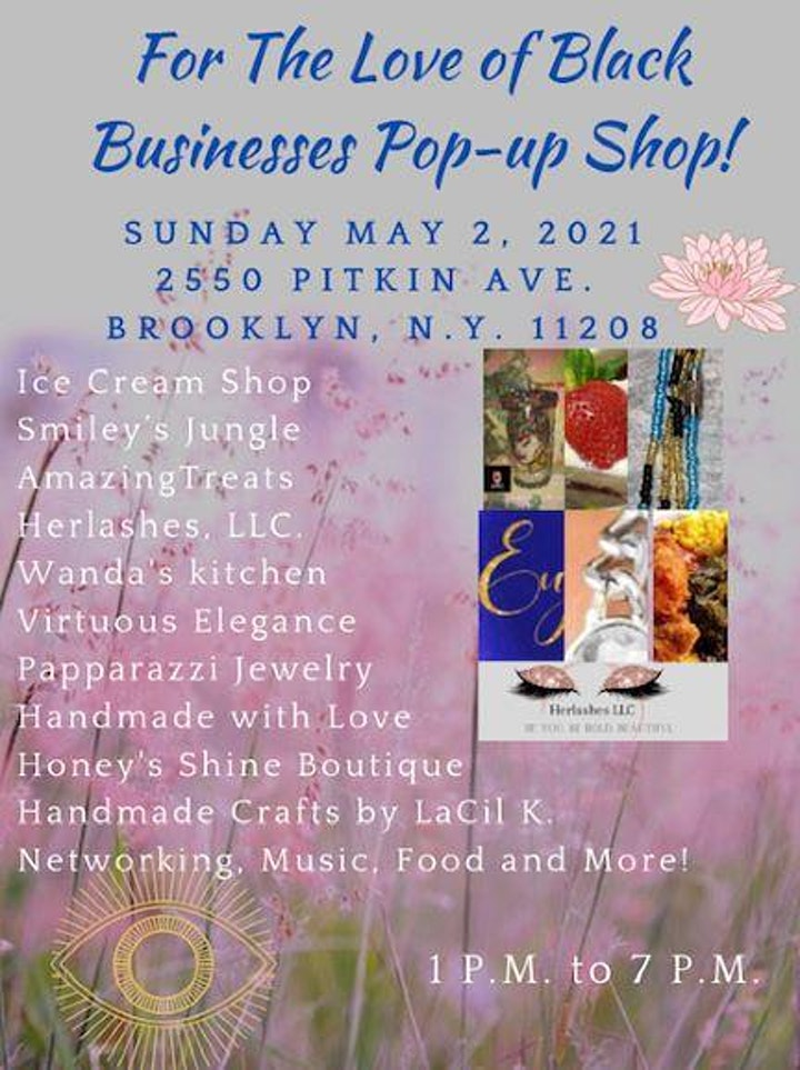 For The LOVE of BLACK Businesses Pop up shop! image