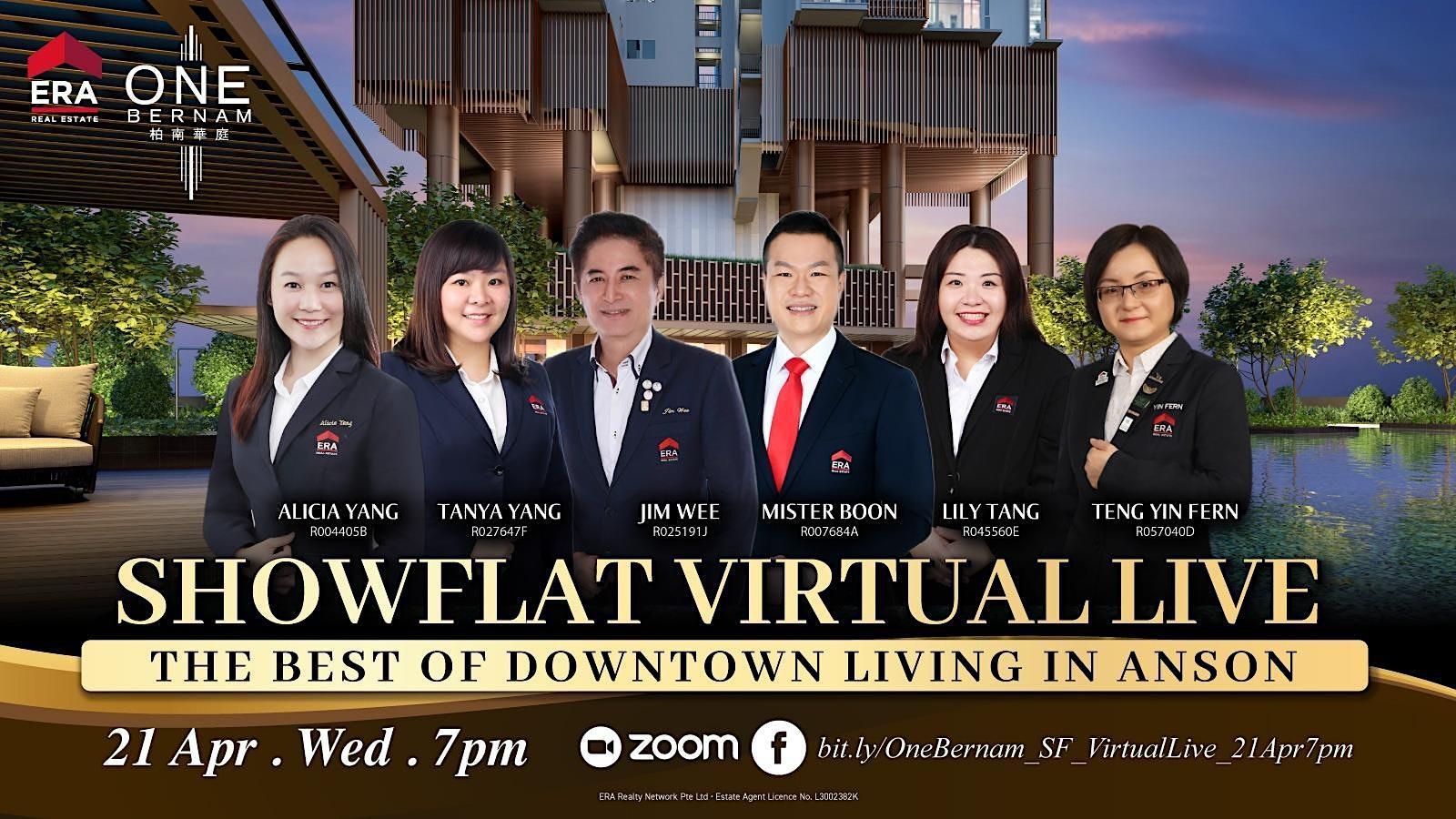 One Bernam Showflat Virtual Live