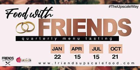 Menu Tasting with FRIENDS | Fall Session tickets