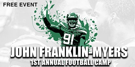 John Franklin Myers - 1st Annual Football Camp (9th - 12th grade) tickets