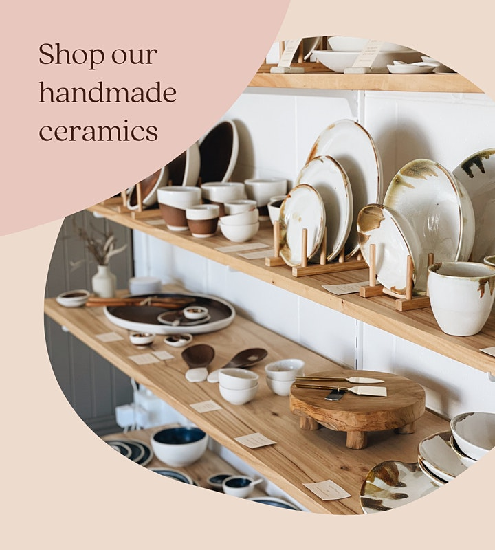 Kim Wallace Ceramics ~ OPEN DAY & Mother's Day Market image