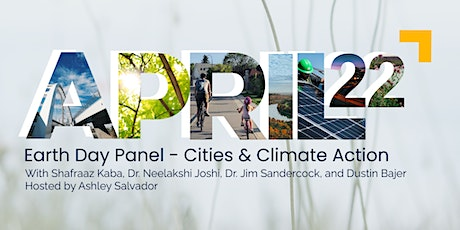 Earth Day Panel - Cities & Climate Action tickets