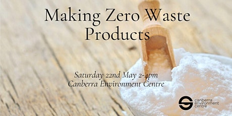 Making Zero Waste Products tickets