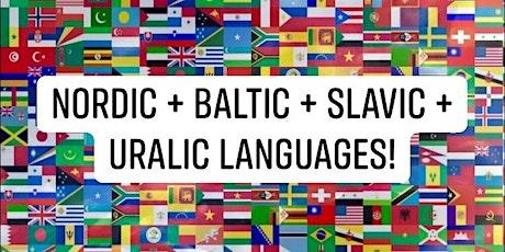 MIXER: NORDIC + BALTIC + SLAVIC + URALIC Languages! tickets