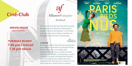 French Ciné-Club : PARIS PIEDS NUS tickets