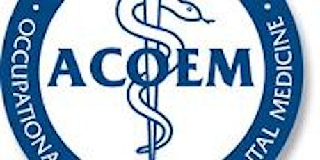 Georgia CACOEM Chapter Meeting Webinar tickets