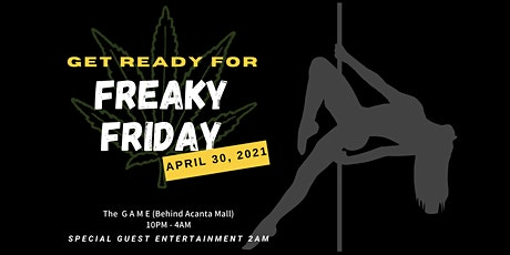 Freaky Friday at the G A M E tickets