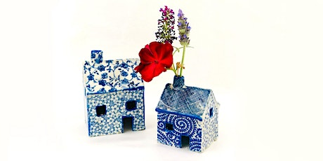 WORKSHOP | Make a little ceramic house or planter with Carys Martin tickets