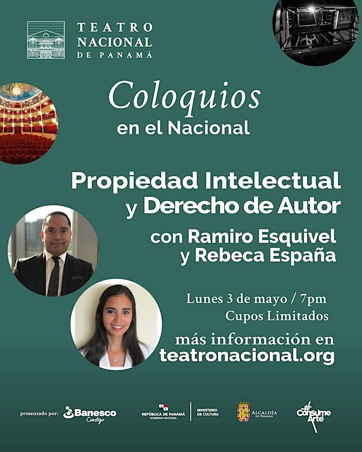Conversatorio Presencial / Propiedad Intelectual y Derecho de Autor image